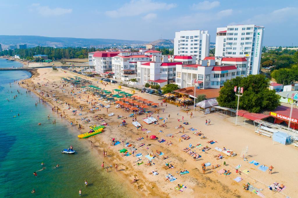 черноморское фото пляжей и набережной фокс