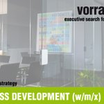 Image for the Tweet beginning: HEAD BUSINESS DEVELOPMENT (w/m/x) |