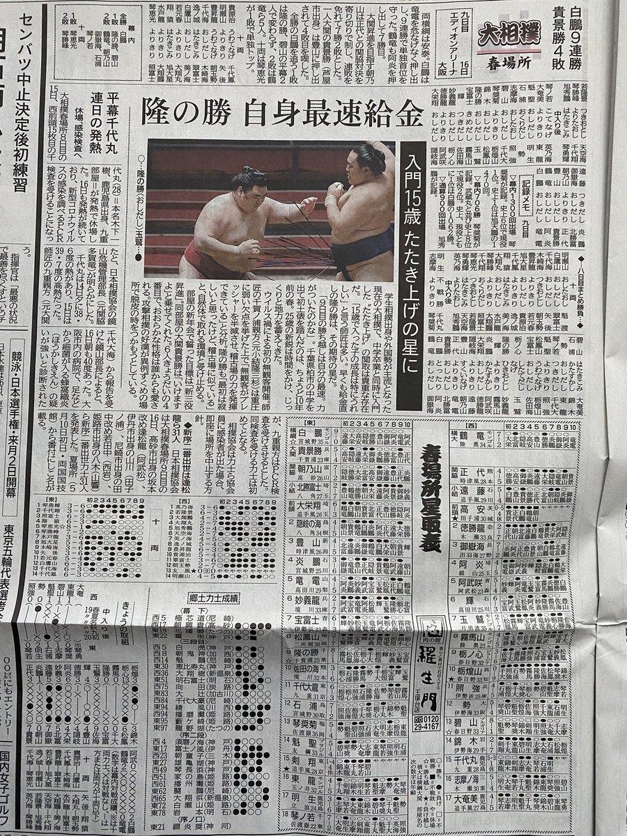 大相撲取組動画