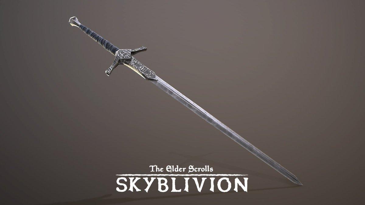 Silver sword canvas prints