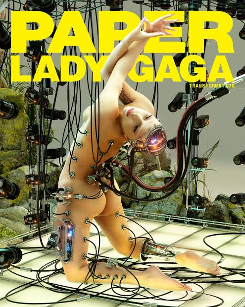 Art Eater On Twitter Left Lady Gaga Cover Shoot For Paper Magazine 2020 Right Japanese Poster For Ghost In The Shell 1995 Great Art Is Timeless Gits 攻殻機動隊 Https T Co Mo7imyicnn