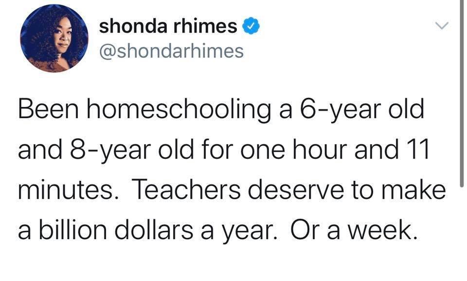 Shonda gets it.