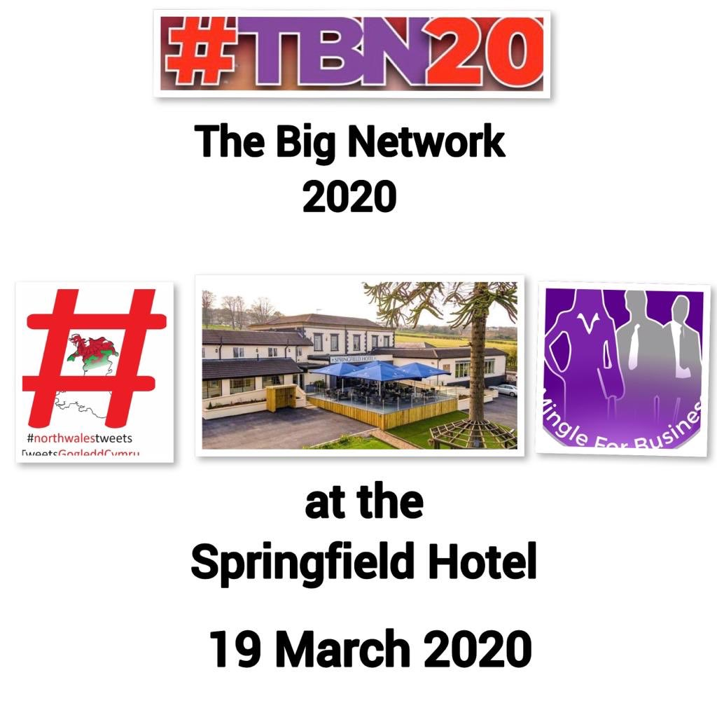 So, after a discussion this morning with @MingleBusiness regrettably, we have decided to postpone this Thursday's The Big Network 2020 #TBN20 event at the Springfield Hotel. Although this is extremely disappointing for a lot of people we are convinced it is the right decision.