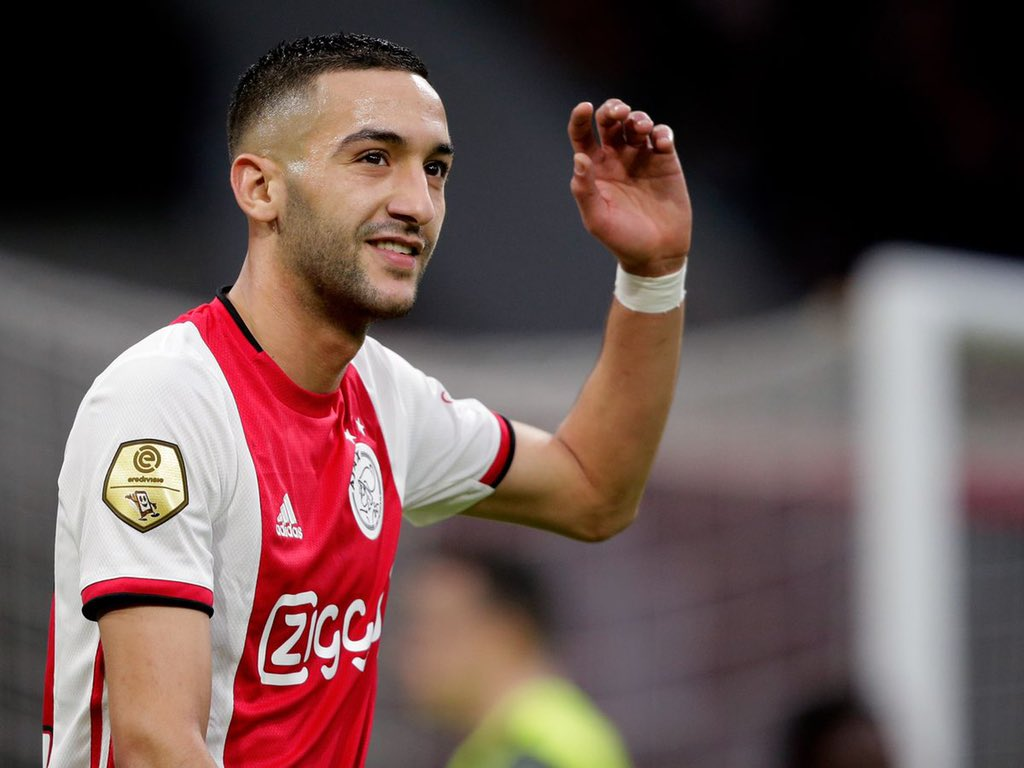 Hakim Ziyech talks up Frank Lampard after agreeing to join Chelsea