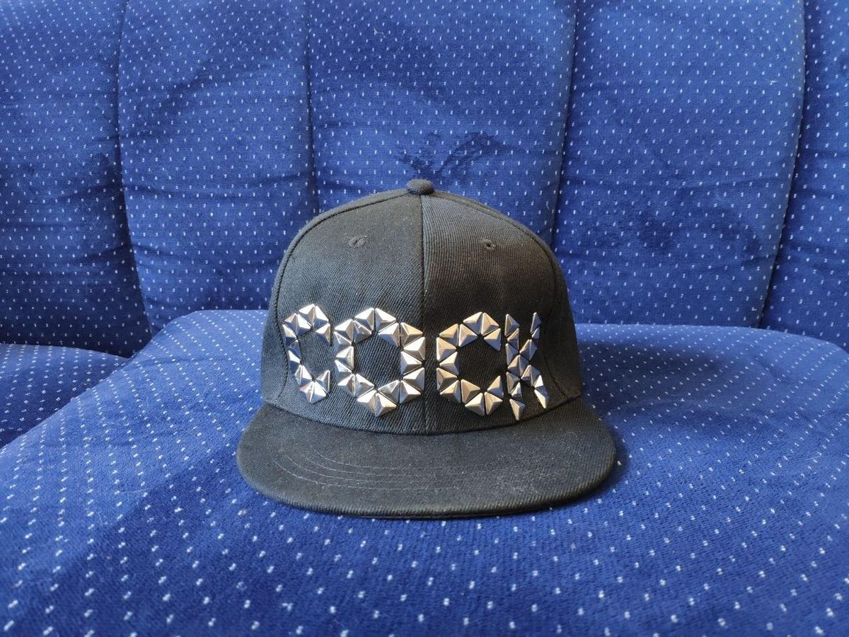 Enjoy cock brushed cotton twill hat
