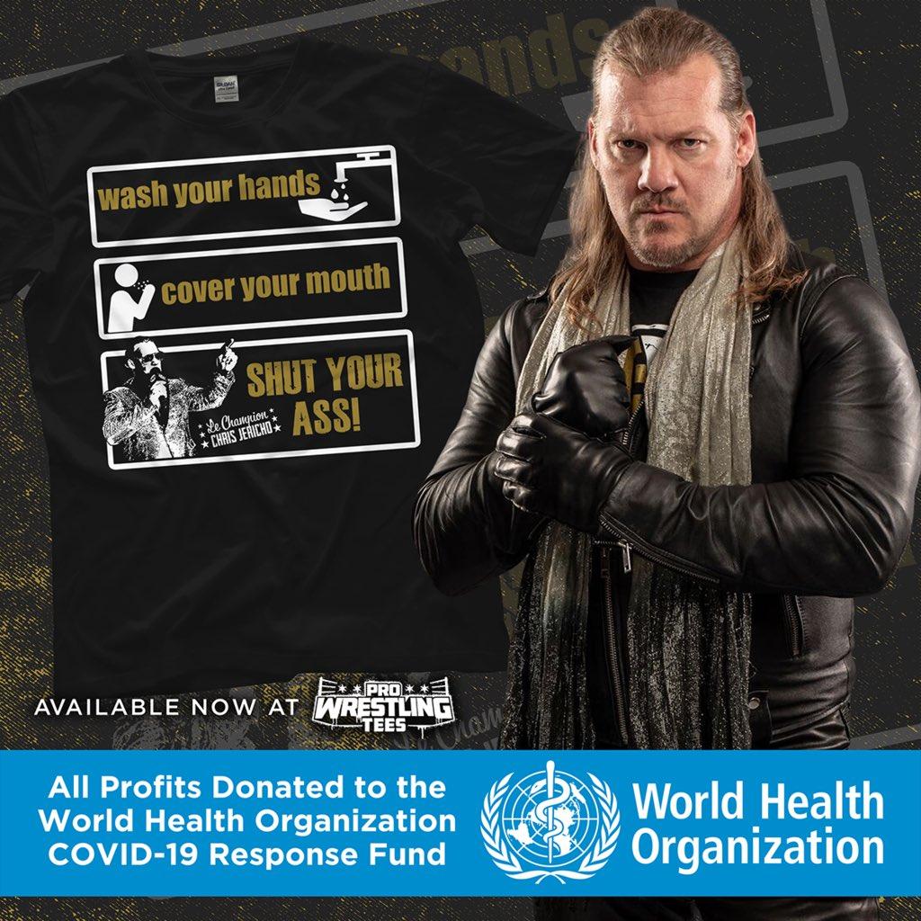 Chris Jericho And Cody Rhodes Release New Merchandise To Benefit Coronavirus Funds