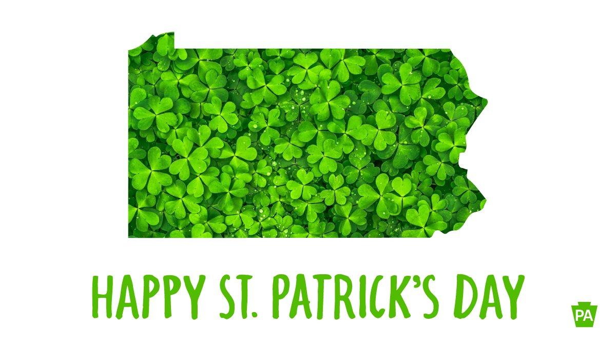 Happy #StPatricksDay, Pennsylvania. 🌈