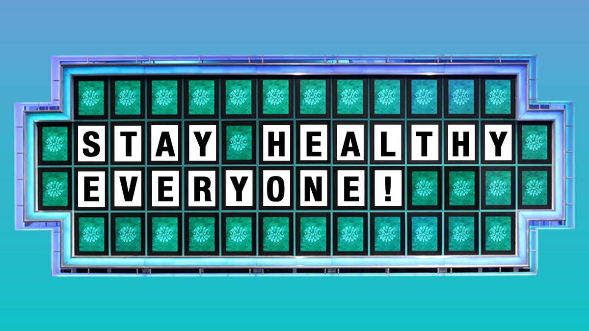 """Wheel of Fortune on Twitter: """"With the increasing concern ..."""
