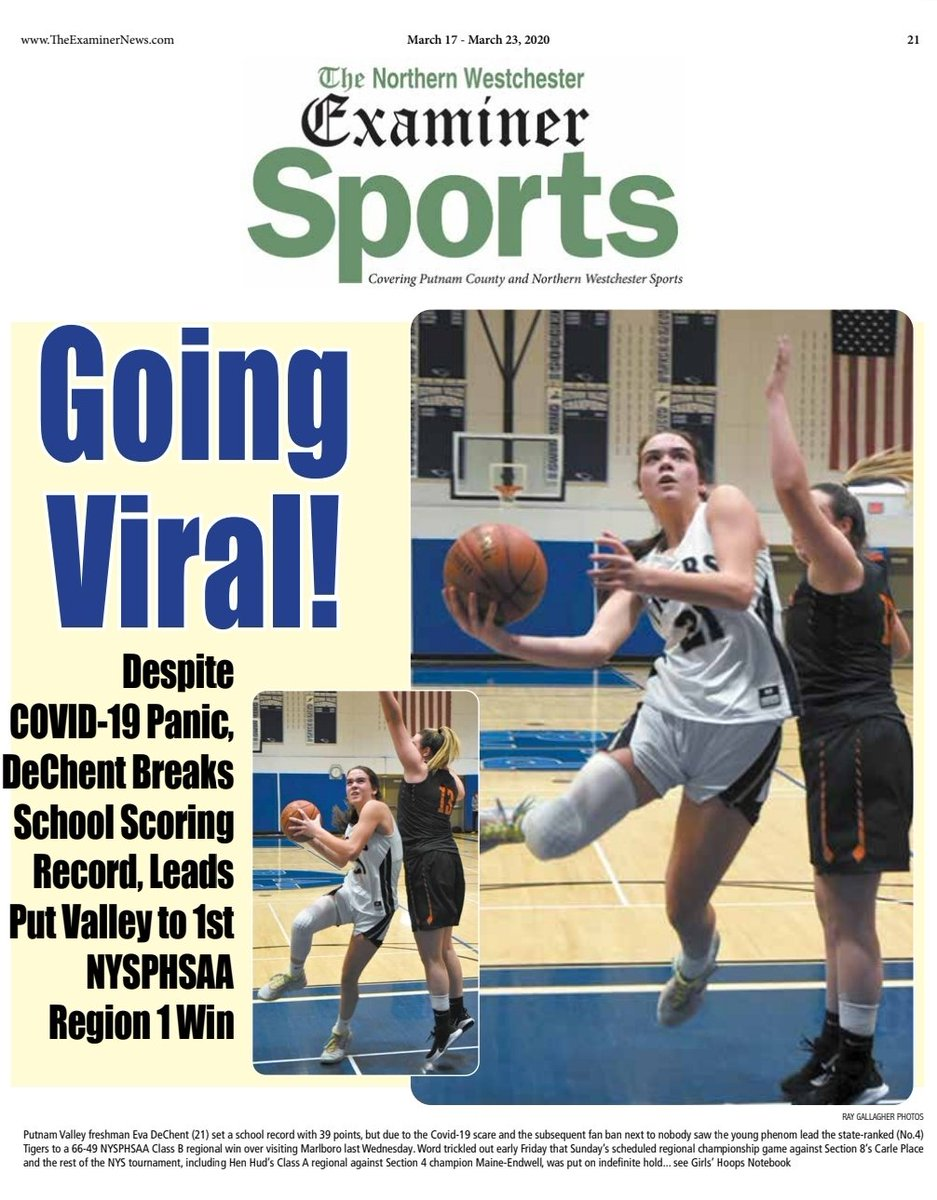 The #LittleEngineThatCould @PvVarsity never got its chance to cross the line due to #coronavirus but history will say great things about 2020 @PVAthletics1. We @ExaminerMedia were all aboard, so sorry kids, on newsstands tomorrow https://t.co/7H6KHIyW7h