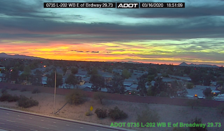 Arizona sunsets - a nice escape from life, if only for a few moments.