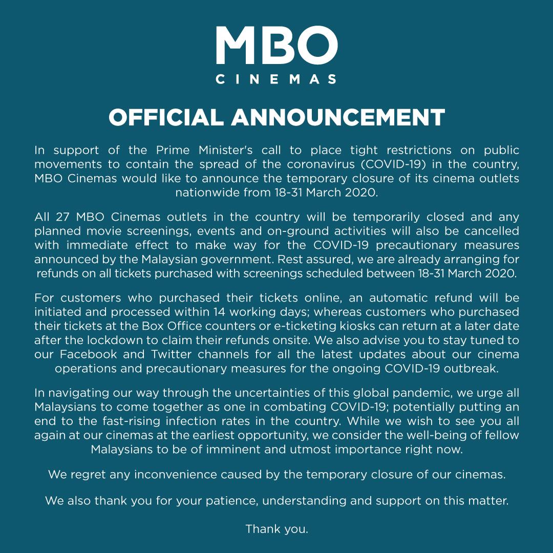 Mbo Cinemas On Twitter Dear Allstars Mbo Moviegoers Kindly