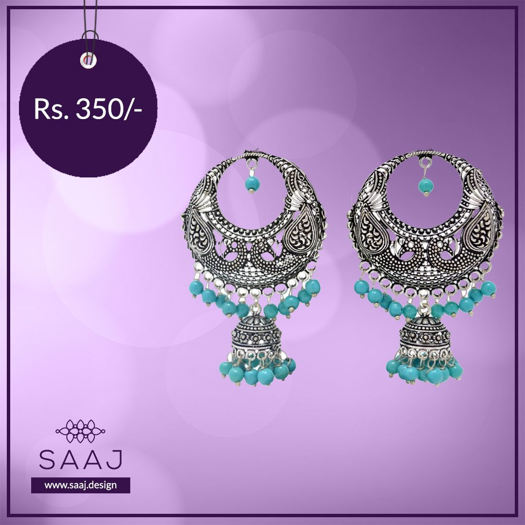 BLUE BEAD LATKAN at Rs. 350.00 Shop at https://www.saaj.design/collections/earrings/products/blue-bead-latkan-ear-49… . . . . #Earrings #EarringLove #EarringLovers #TraditionalEarrings #EarringSale #EarringsAddict #OxidisedJewellery #OxidisedEarrings #OxidisedEarring #OxidisedEarringsIndia #OxidisedEarringwithJhumkis #OxidizedEarringpic.twitter.com/PkULTQe6QX