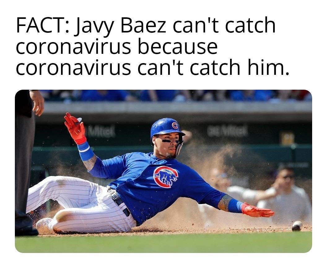 #Cubs #coronavirus #socialdistancing #covid19 #Chicago #ChicagoCubs #elmago @javy23baez #quarantine