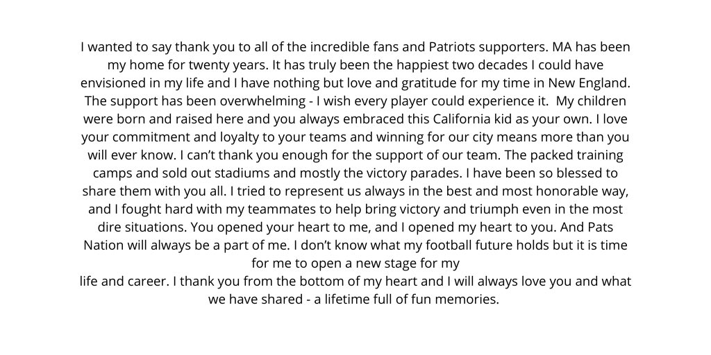 LOVE YOU PATS NATION