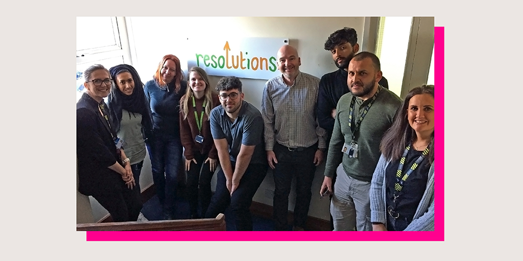 Excellent session with @changegrowlive and @ResolutionsLTN training to deliver M-PACT @actiononaddiction. Supporting families impacted by addiction.