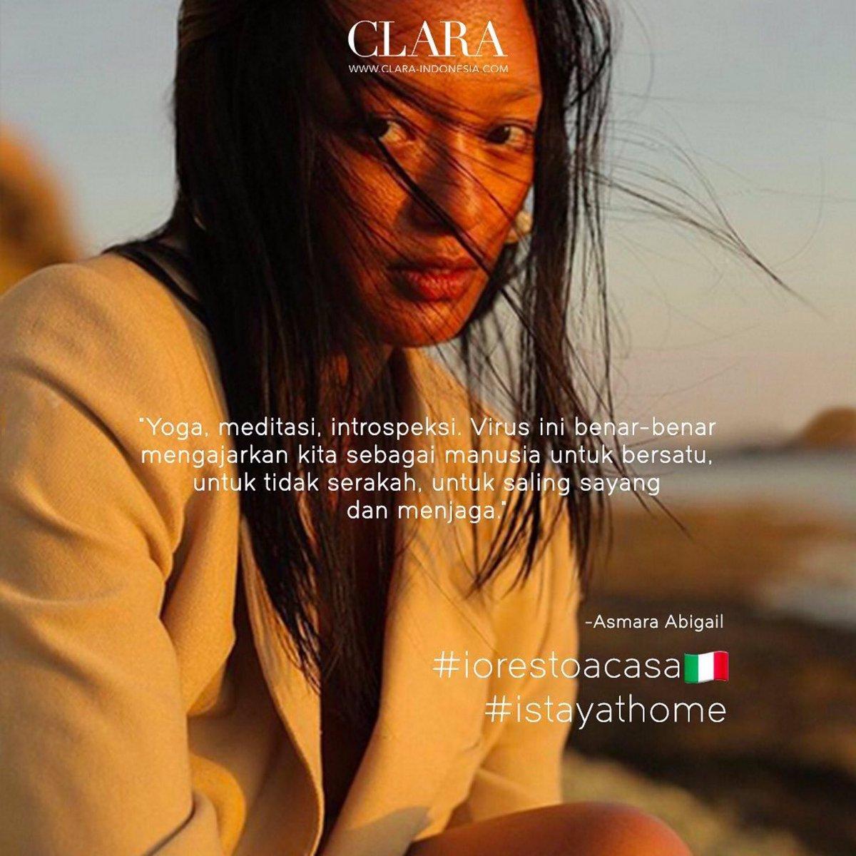 ASMARA ABIGAIL for  @CLARA_Indonesia .  @sulung88 @willysuteja