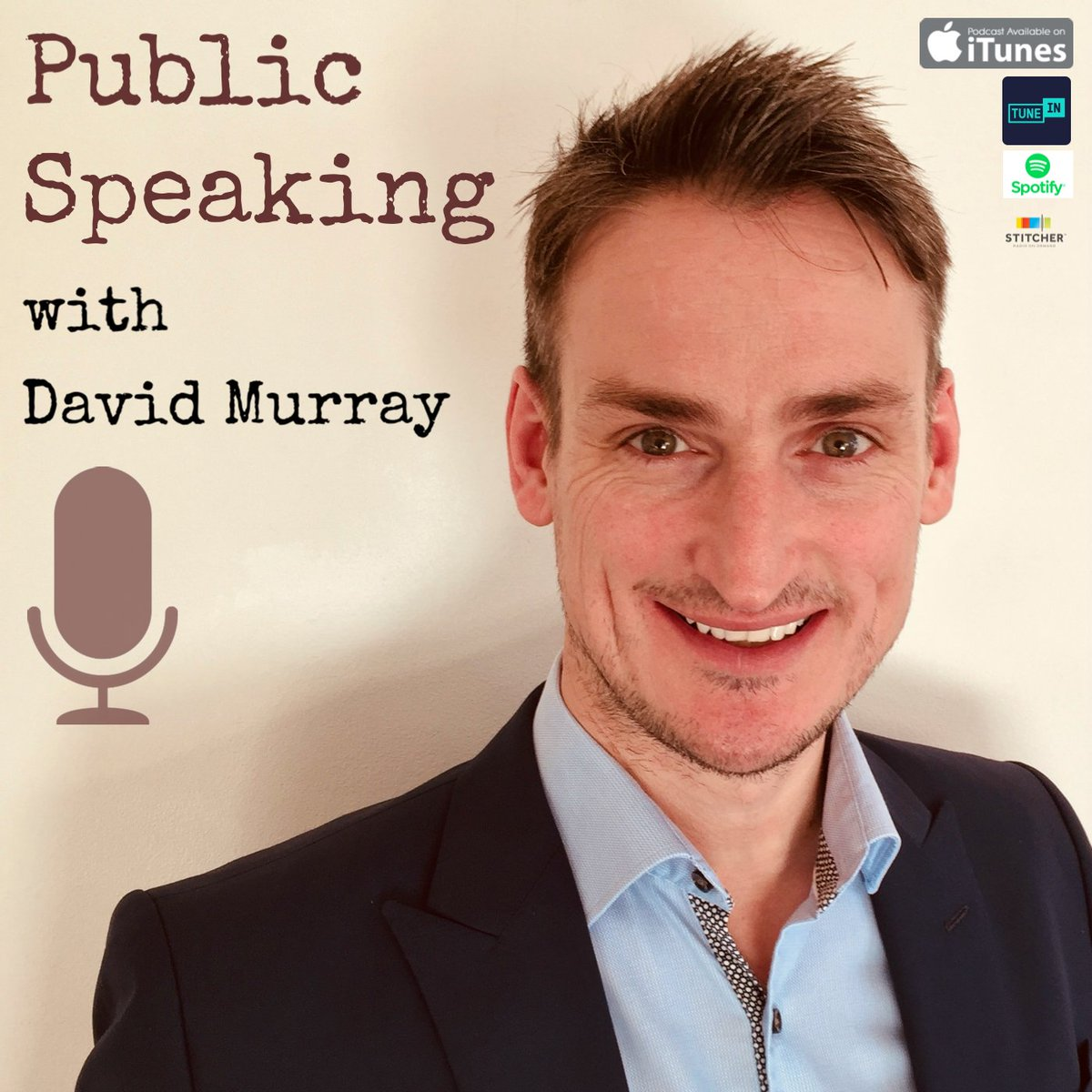 """Delivering a speech or presentation this week? Share your message with confidence and flair by listening to the #Publicspeaking with David Murray podcast.  How to remove those """"erms"""" and """"ums""""! http://ow.ly/MKnj50yzjGT  #communicatewithconfidence #presentationskillspic.twitter.com/iw1MMJw2eZ"""
