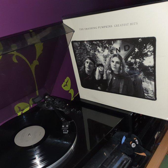 Happy birthday BILLY CORGAN *53*! The Smashing Pumpkins - Greatest Hits (Virgin/2001) 2-LP