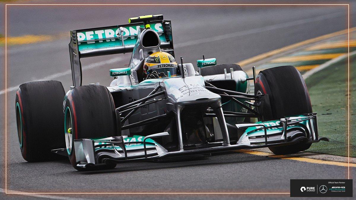#OnThisDay in 2013 @LewisHamilton made his debut for @MercedesAMGF1...  7️⃣ Years 6️⃣3️⃣ Wins  6️⃣2️⃣ Pole Positions  5️⃣ World Titles  Not a bad record 😏  #UnfairAdvantage https://t.co/ipL9NjFtBQ
