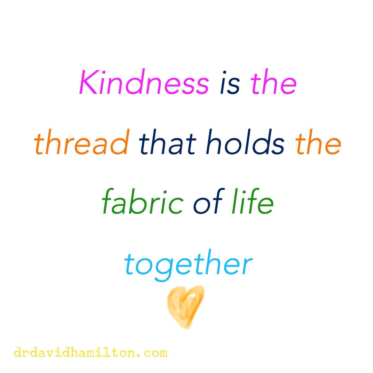 When times are hard, kindness is the glue that keeps us together.🦋