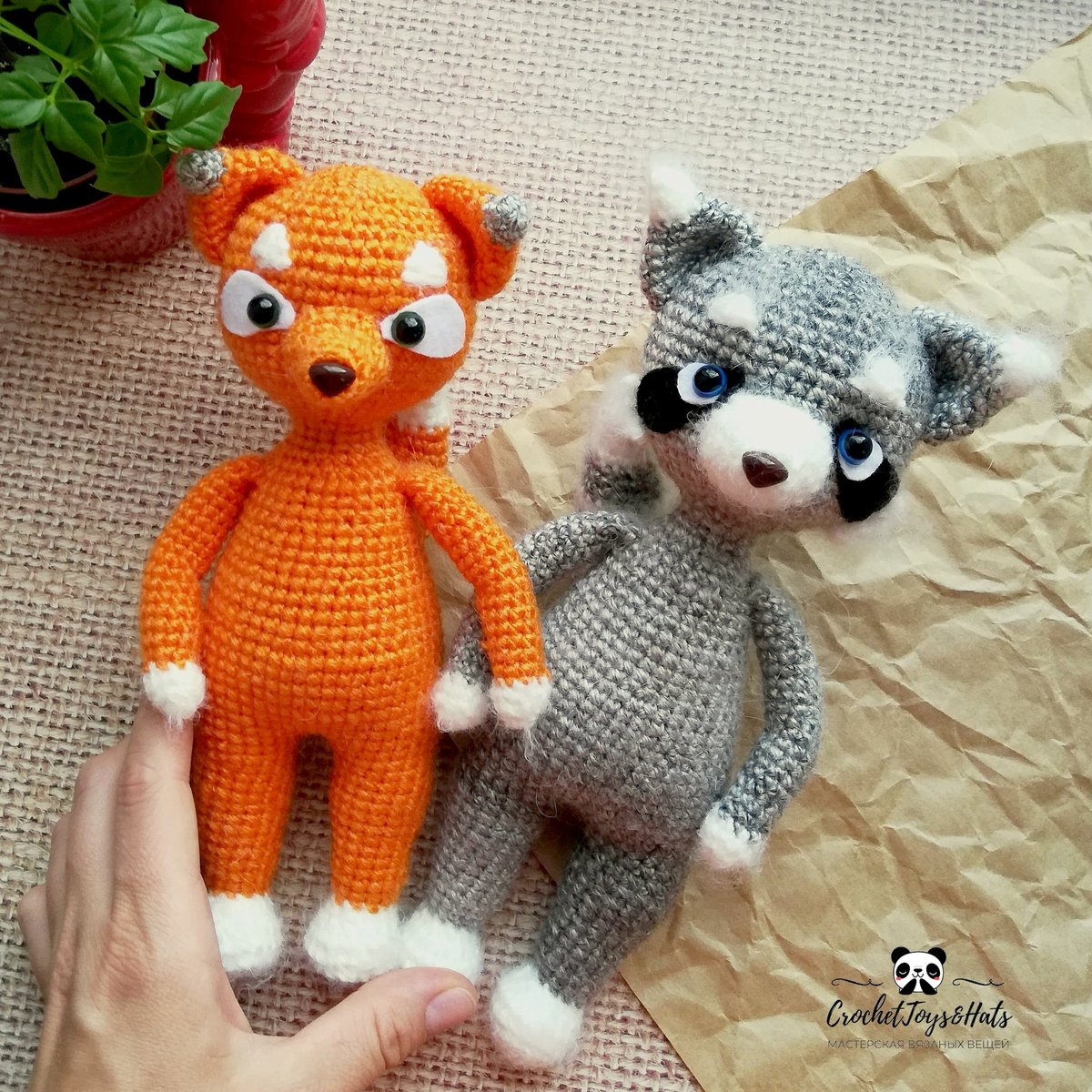 This raccoon with cute sly eyes will... - Amigurumi Today - Free ... | 1200x1200