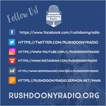Image for the Tweet beginning: Follow us!  #Rushdoony