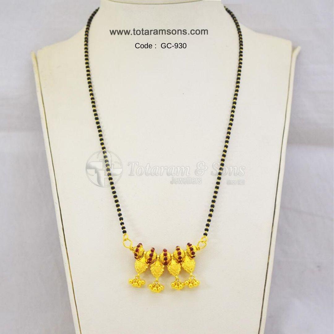 Look beautiful with thisLight Weight Floral Leaf #Black #Beeds #Chain With Exquisite Hand Craftmanship Code : GC-930, Buy Now @ https://bit.ly/39BIpai  #Goldjewellery #DiamondJewellery  #PolkiJewellery #Hyderabadjewellery #Jewelry #southindianjewellery #czjewelrypic.twitter.com/UNllQ8QhAH