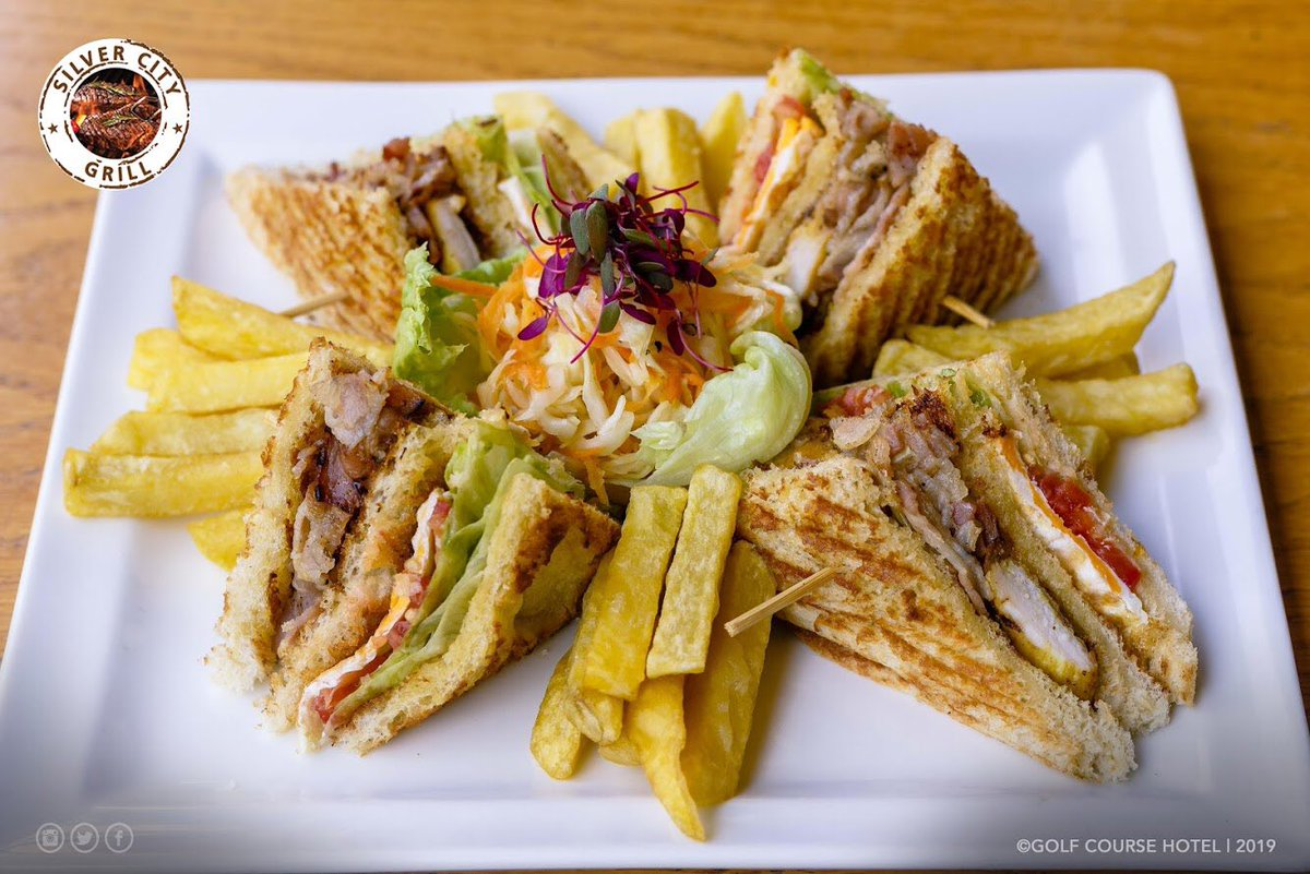 Lunchtime is definitely best when served in Club sandwich 🥪 form.  Get yours now at the Silver City Grill. #Lunchtime https://t.co/0uHaYXayPh