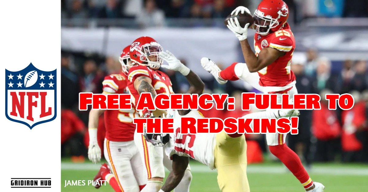 Cornerback Kendall Fuller has signed a deal worth $40 million over 4 years with the Washington Redskins!  Read about the move here! Stay up to date with all things free agency with GridIron Hub!  #FreeAgency #KendallFuller #NFL https://gridironhub.com/pulse/kendall-fuller-signs-with-the-redskins/…pic.twitter.com/fi03sPsr2T