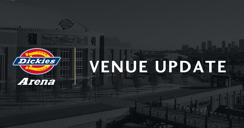 Dickies Arena In Forth Worth, TX. Confirms RAW Cancellation, Show Changed To Future SmackDown Taping