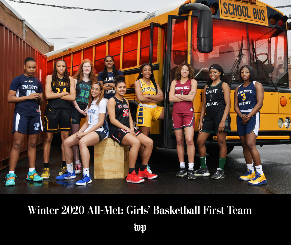 Winter 2020 All-Met: Girls' Basketball  First Team, Second Team, Third Team, Fourth Team and Honorable Mention: