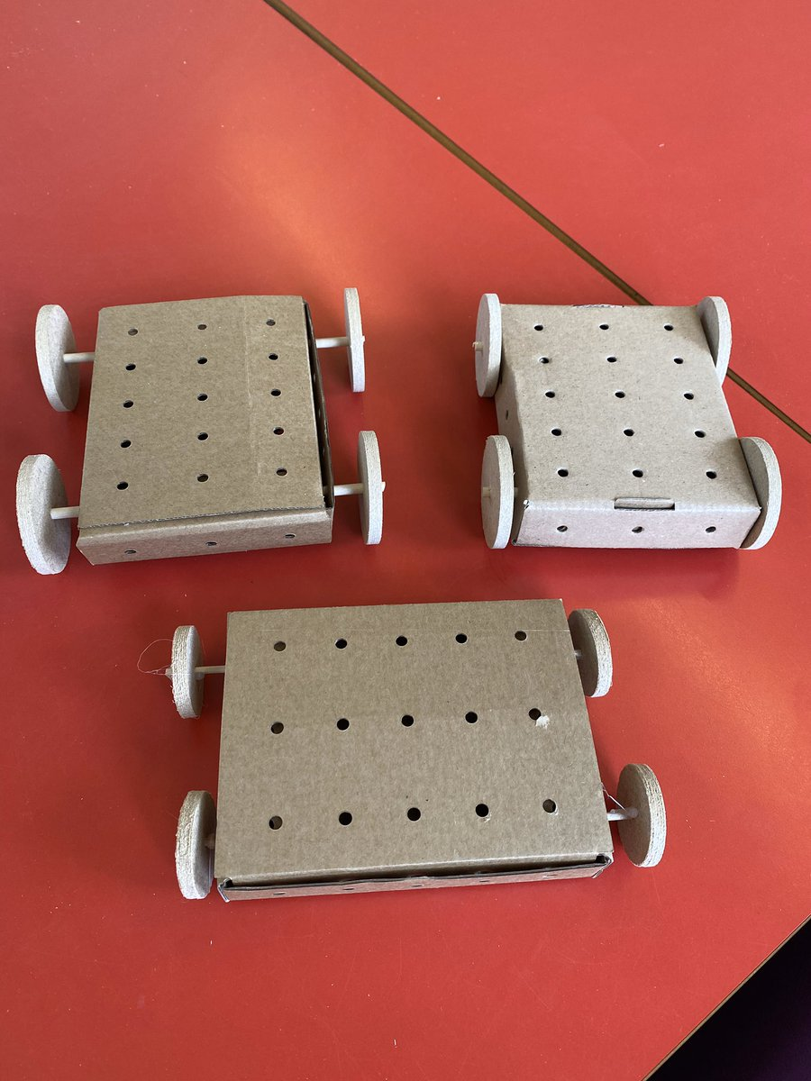 Y2P have had a productive day making the chassis and axles for our cars.