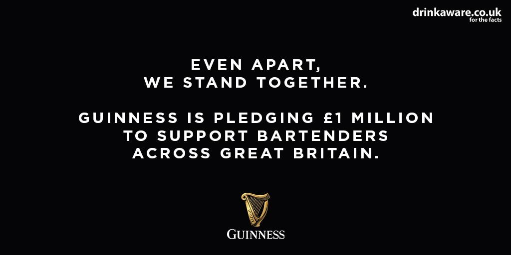 Diageo Guinness pledge