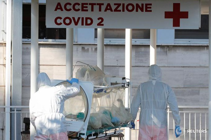 Italy rushes to promote new doctors to relieve coronavirus crisis
