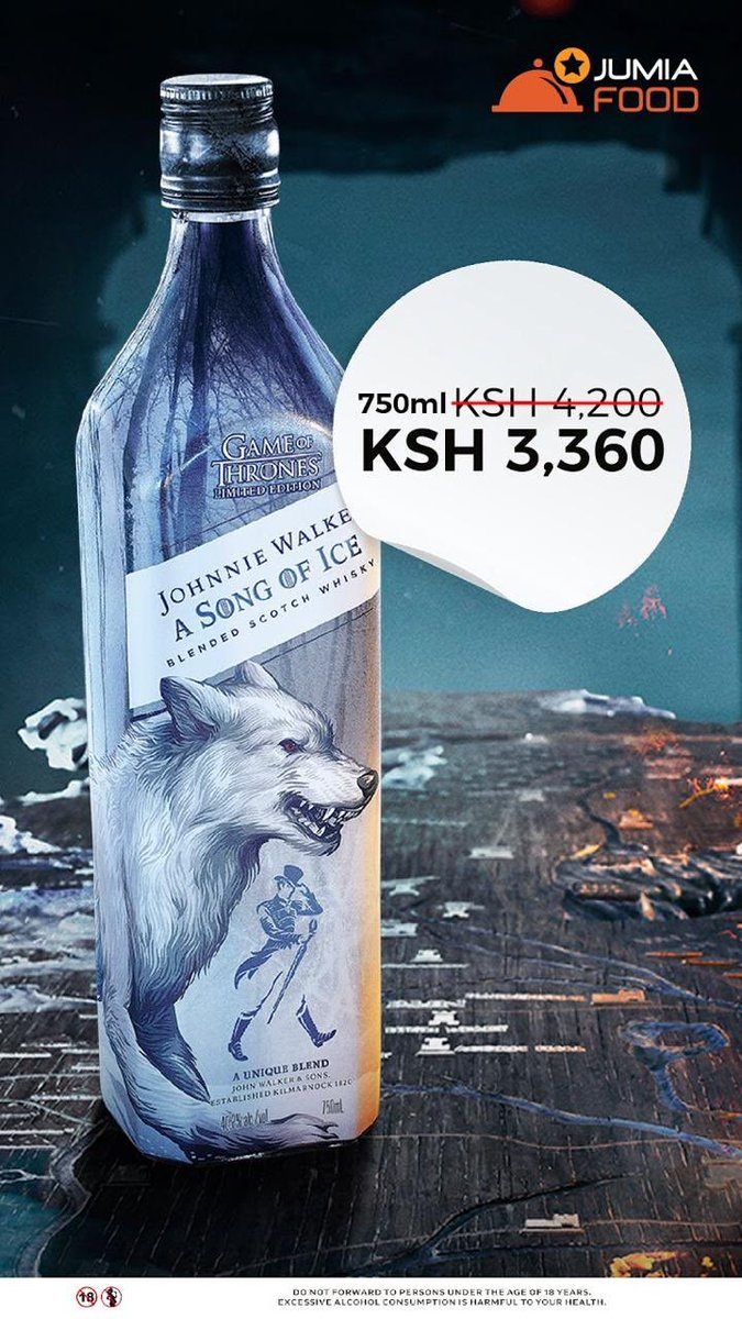 The Direwolf within is calling! Get a taste of the North with the #JWSongofIce. Order yours today at  https:// turnup.yum.co.ke /     #ignitionboyzclub<br>http://pic.twitter.com/zgsljNkR62