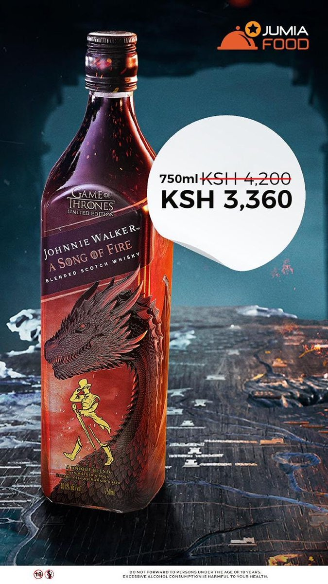 Are your Team Targaryen? Explore the fiery sensation of the Dragon with #JWSongOfFire. Order yours today.  https:// turnup.yum.co.ke /      #ignitionboyzclub<br>http://pic.twitter.com/hBwRoqhD4n