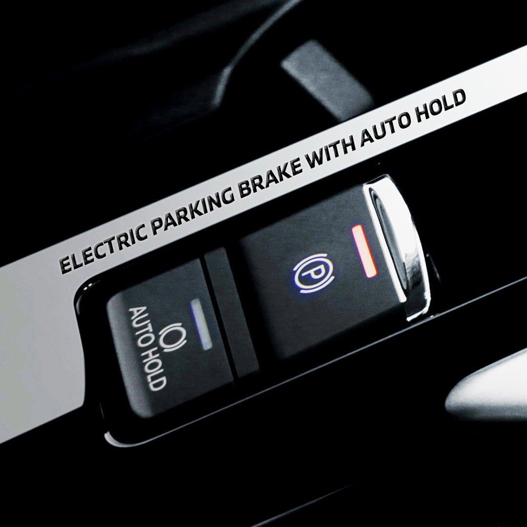Semakin nyaman dan aman berkendara dengan Eclipse Cross. Dilengkapi Electric Parking Brake with Auto Hold hanya dengan satu sentuhan saja, pengoperasian rem jadi lebih mudah.  #MitsubishiMotors