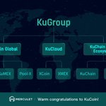 Image for the Tweet beginning: Warm congratulations to Kucoin @kucoin