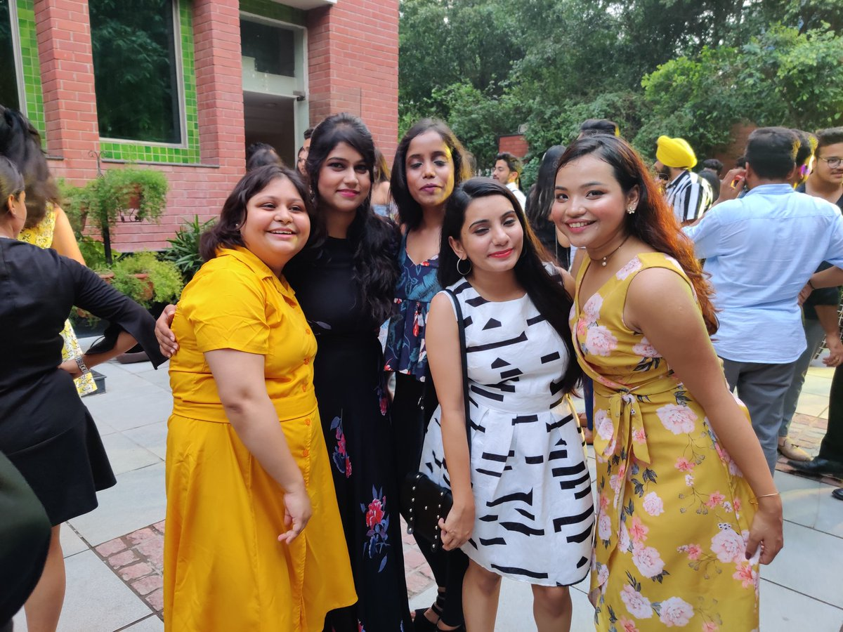 Pgdm college is just not about studying. It develops our personality by providing us the ability to meet people from different origins and working together. #TBT #Freshers2019 #NDIM