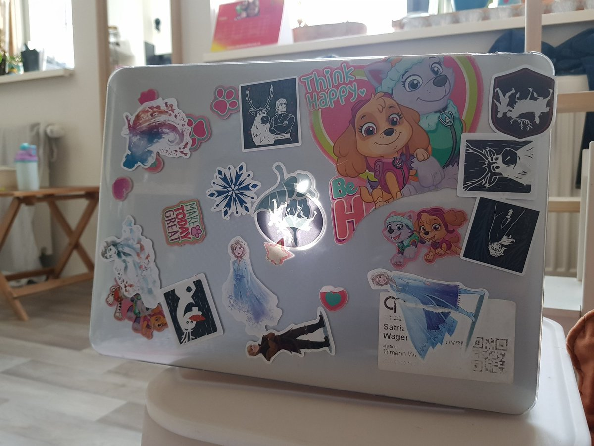 When they say your laptop stickers define you..