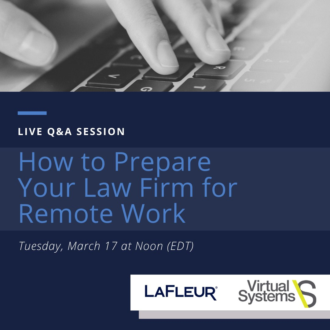1 hour away from our Q&A session on Remote Work for Lawyers. Register here - https://t.co/FLAjVeWRvP #remotework #workingfromhome #lawyers #lawfirm https://t.co/UtiXRpmtuJ