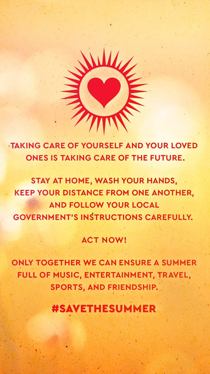 #savethesummer #coronavirus #SocialDistancingNow