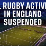Image for the Tweet beginning: Following government advice, the RFU
