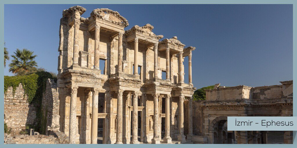 Turkish Museums On Twitter I Have Always Imagined That Paradise Will Be A Kind Of Library Luis Borges The Library Of Celsus From The 2nd Century Ad Is An Outstanding