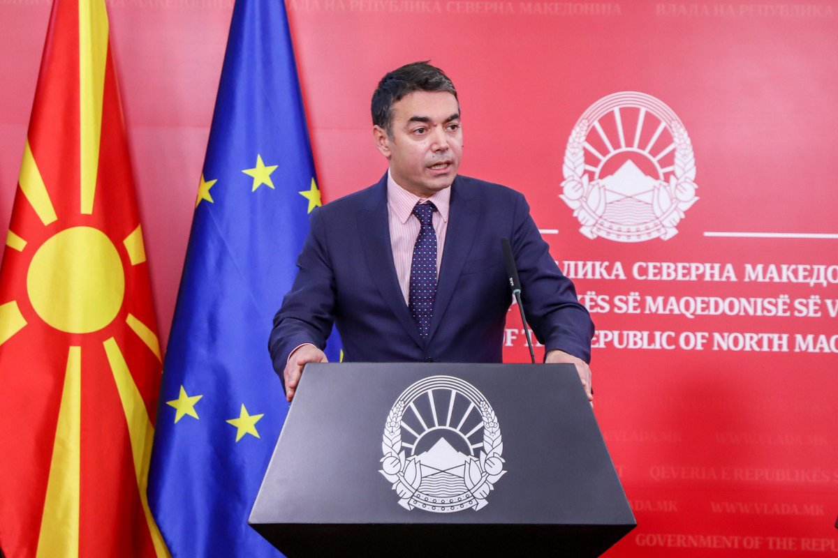 """The Spanish Senate has just ratified the @NATO Accession Protocol for the Republic of North Macedonia with no votes against."" - FM @Dimitrov_Nikola at the press conference after today's ratification by @Senadoesp. 🇪🇸🇲🇰  🔗 http://bit.ly/2IVE71C"