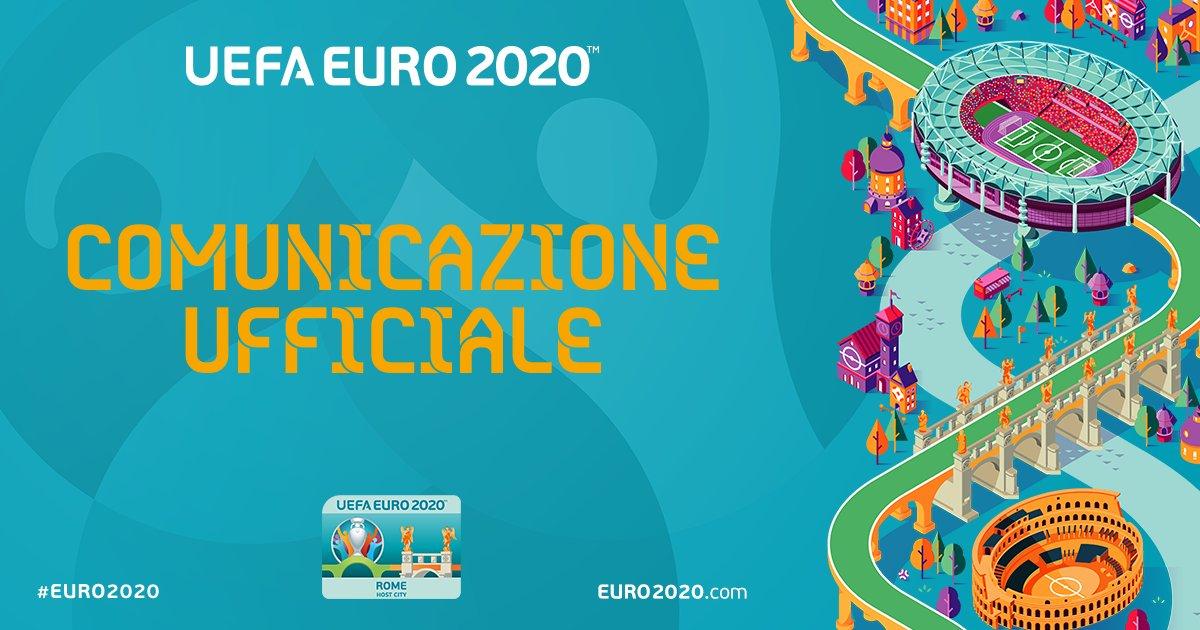 ⚠️Ufficiale: @UEFA @EURO2020 rinviato al 2021. Per annuncio e info biglietti: bit.ly/38Xmo4D ⚠️ La salute dei tifosi, dello staff e dei giocatori al primo posto, dichiara Aleksander Čeferin, presidente UEFA. @Roma @Vivo_Azzurro #EURO2020 #RomaEuro2020 #Coronavirus