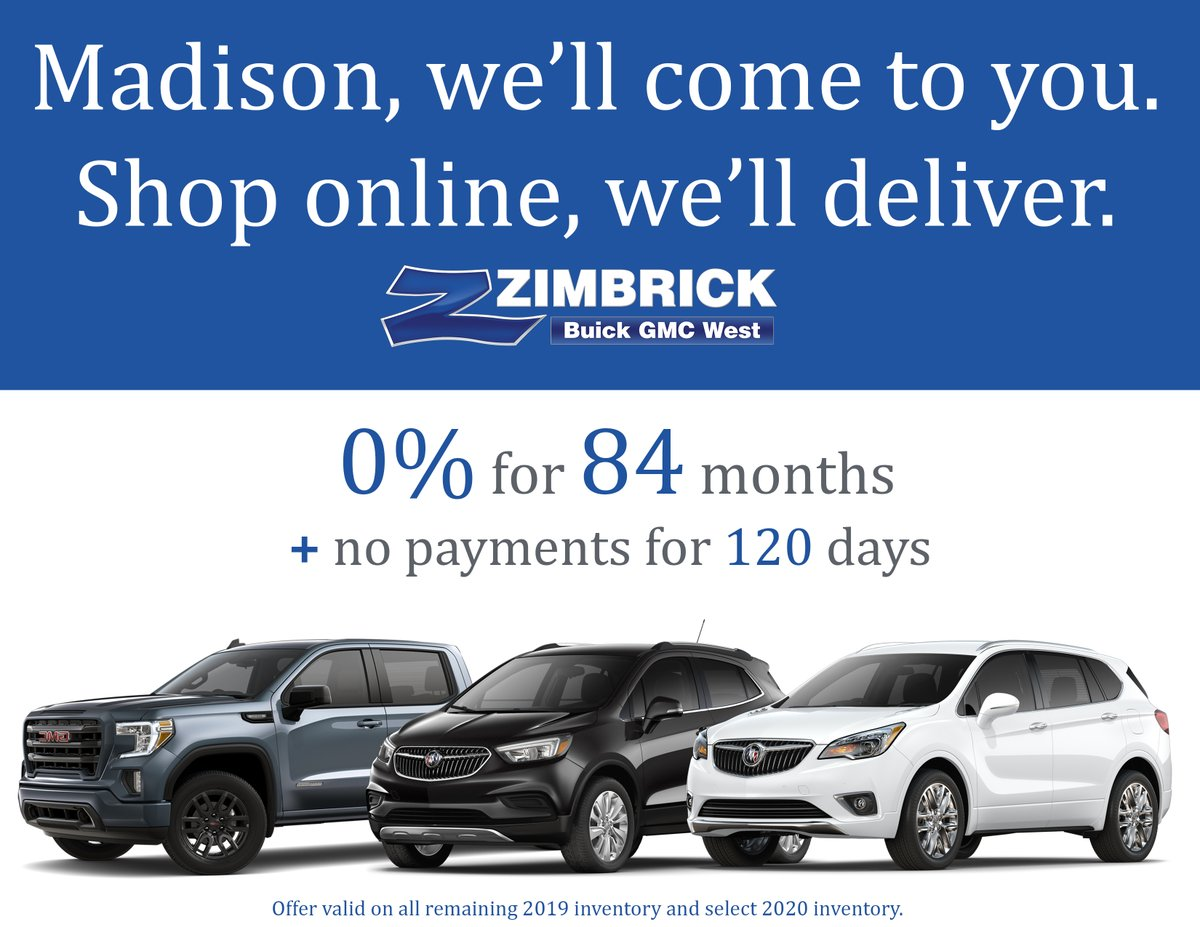 Are you staying home? Dont worry, well bring any vehicle youre interested in directly to your doorstep! 0% for 84 months! This is an offer you cant miss!