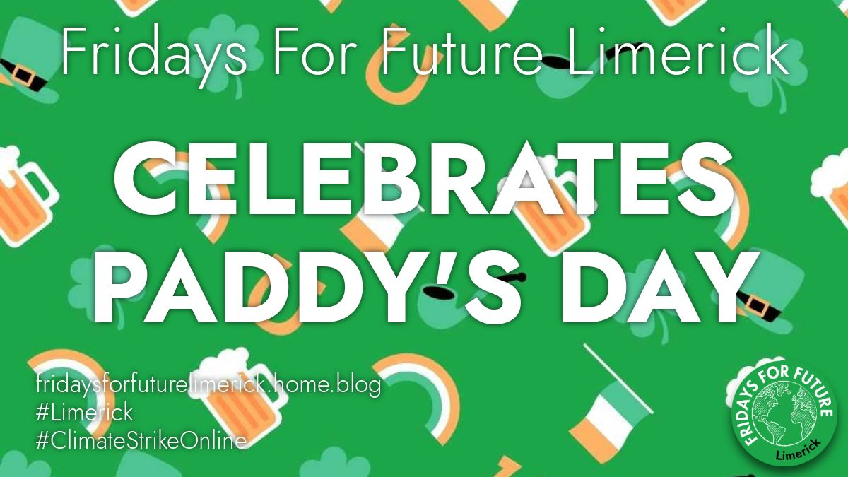 Happy Paddy's Day everyone and have a good #virtualpaddysday2020 #virtualparade !