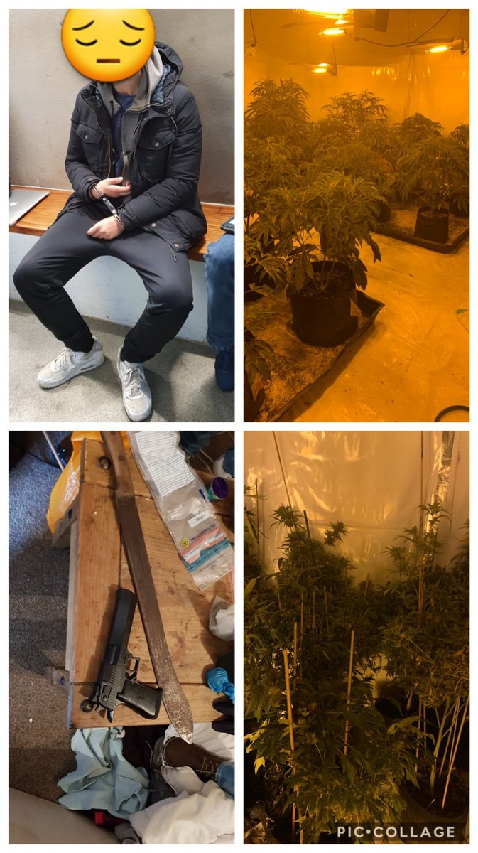 Excersing simple stop & search powers in the @EStaffsPolice area has resulted in the arrest of 2 males, the removal of dangerous weapons off the street and the seizure of a large quantity of controlled drugs along with their cash #oplightning #result pic.twitter.com/RT17AvP23b