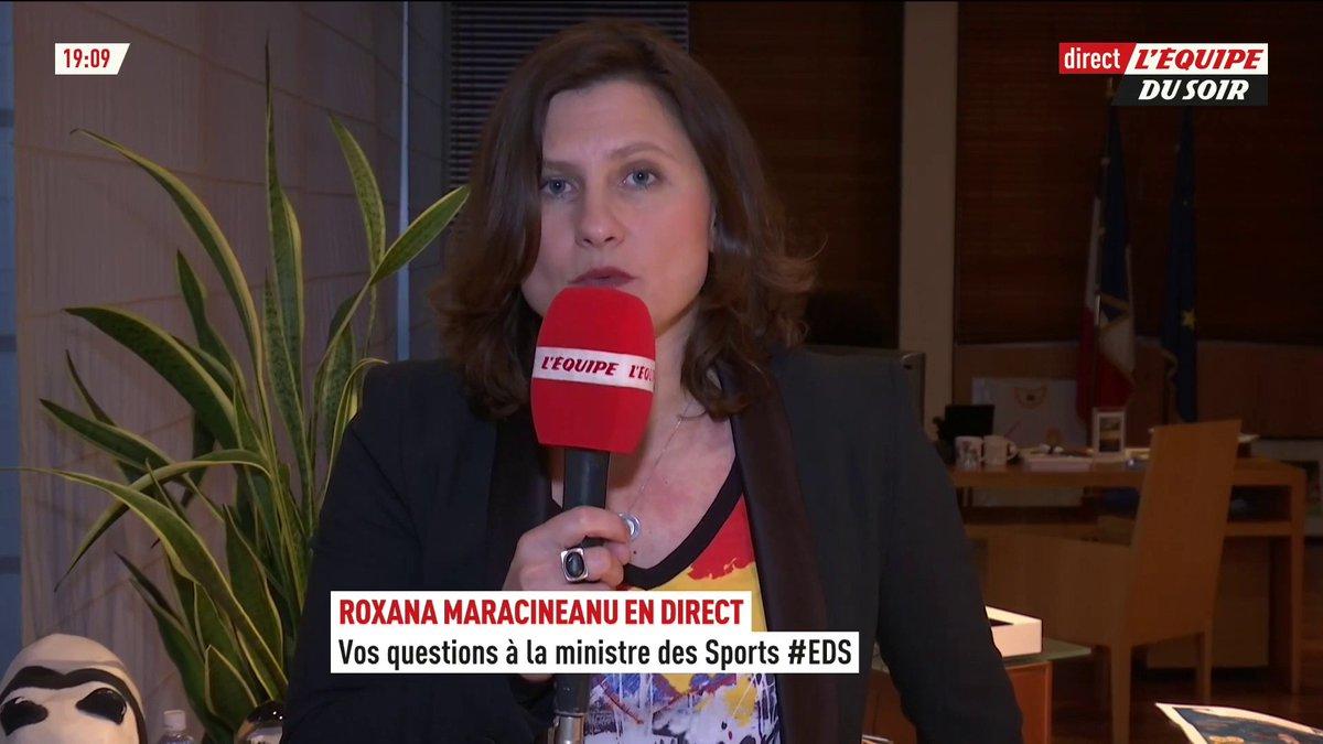 Image for the Tweet beginning: 💬 @RoxaMaracineanu : « Aujourd'hui,